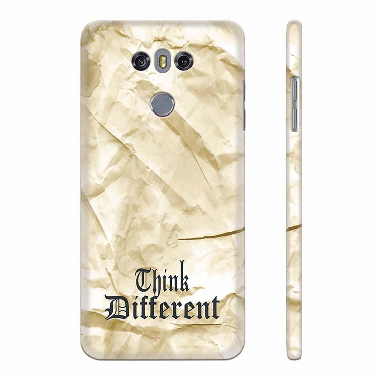 innovative design bde02 ce55a Think Different Back Cover for LG G6