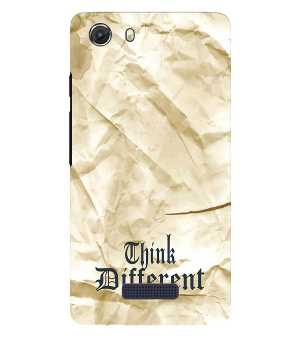 Think Different Back Cover for Micromax Q372 Unite 3