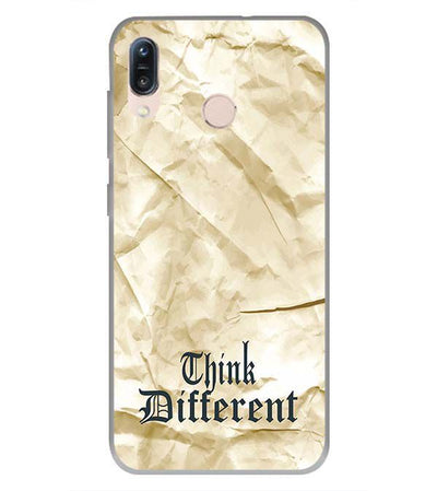 Think Different Back Cover for Asus Zenfone Max Pro M1