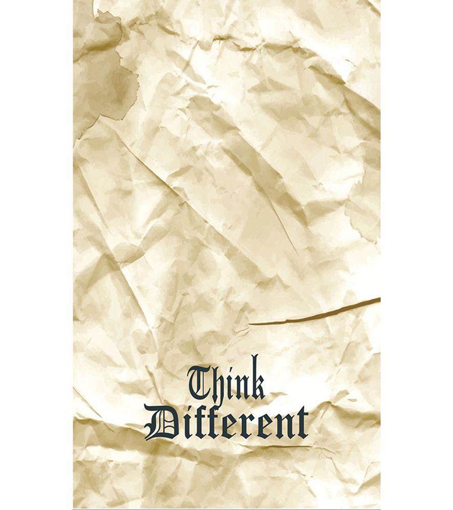 Think Different Back Cover for Intex Intx Trend Lite