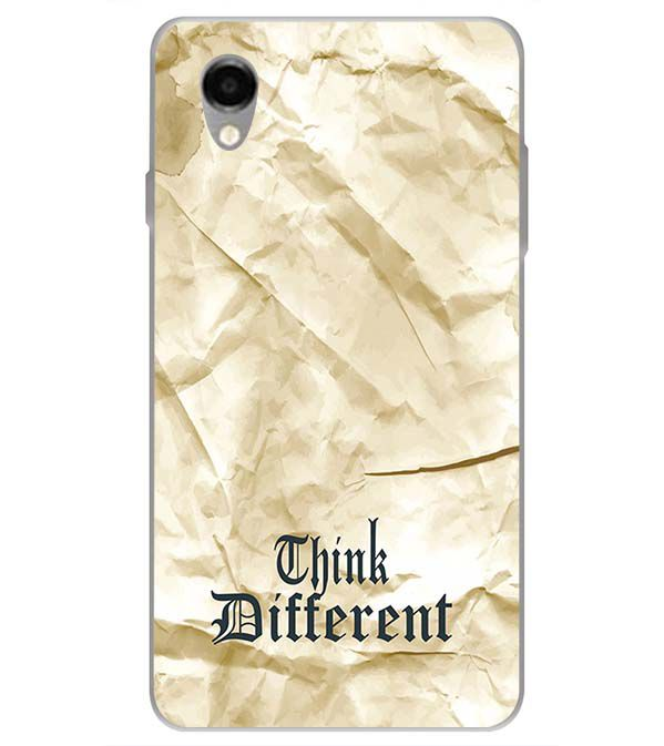 Think Different Back Cover for ITEL PWO Pro
