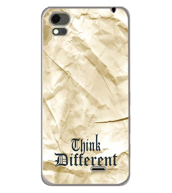 Think Different Back Cover for Karbonn Aura Note 4G