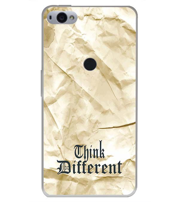 Think Different Back Cover for Smartron SRT Phone