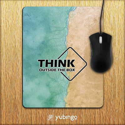 Think Outside The Box Mouse Pad-Image2