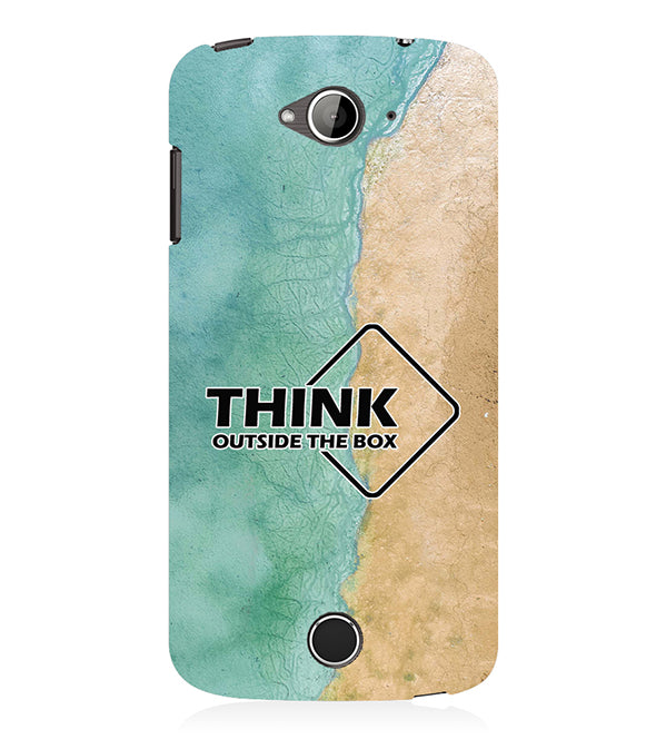 Think Outside The Box Back Cover for Acer Liquid Zade 530