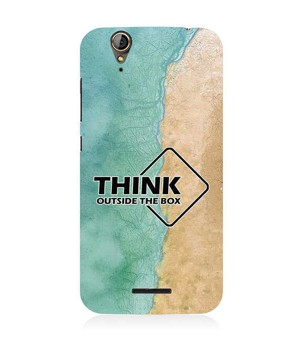 Think Outside The Box Back Cover for Acer Liquid Zade 630