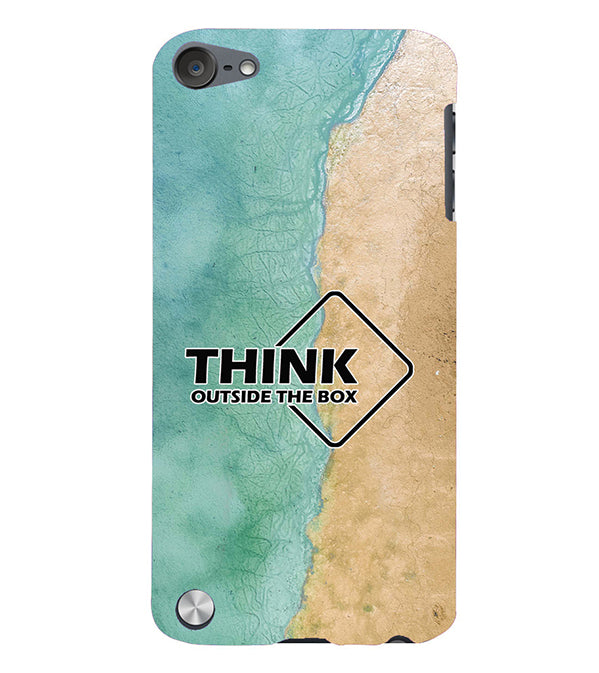 Think Outside The Box Back Cover for Apple iPod Touch 5