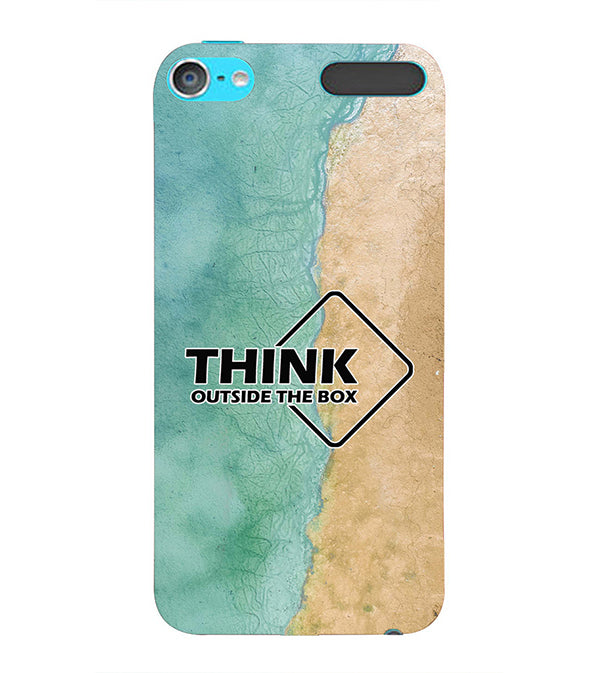 Think Outside The Box Back Cover for Apple iPod Touch 6
