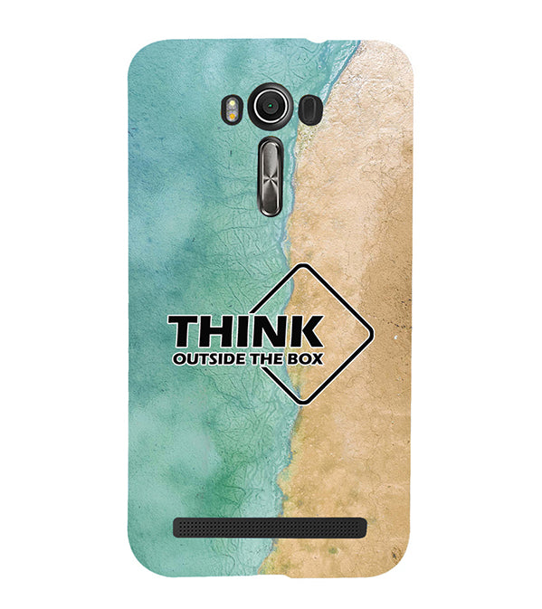 Think Outside The Box Back Cover for Asus Zenfone 2 Laser ZE550KL