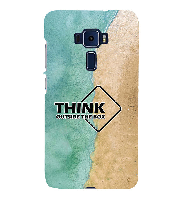 Think Outside The Box Back Cover for Asus Zenfone 3 Deluxe ZS570KL