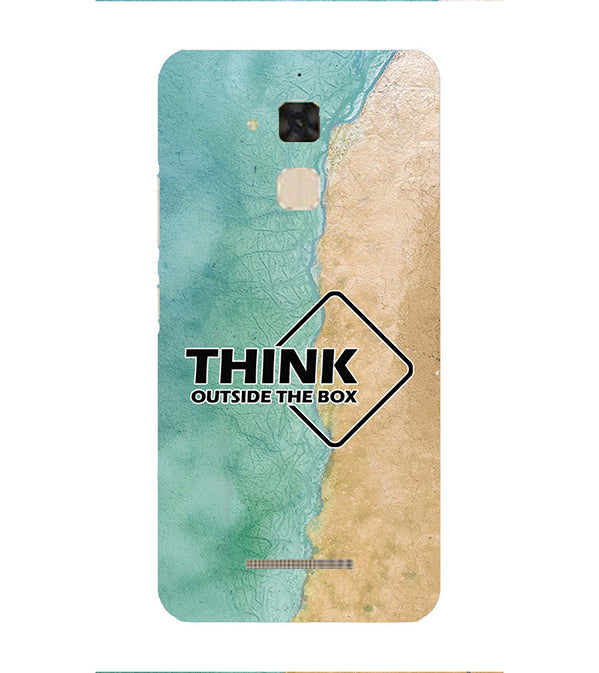 Think Outside The Box Back Cover for Asus Zenfone 3 Max ZC520TL
