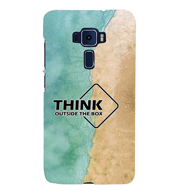 Think Outside The Box Back Cover for Asus Zenfone 3 ZE520KL