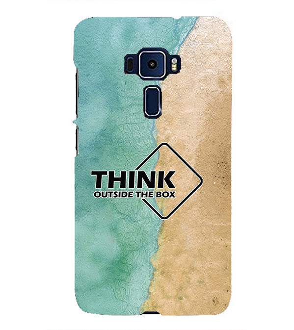 Think Outside The Box Back Cover for Asus Zenfone 3 ZE552KL