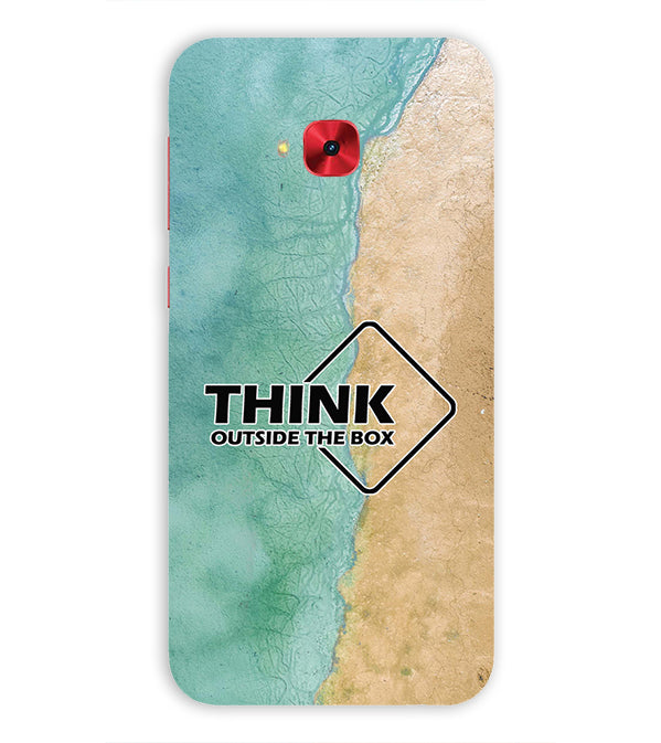 Think Outside The Box Back Cover for Asus Zenfone 4 Selfie Pro ZD552KL