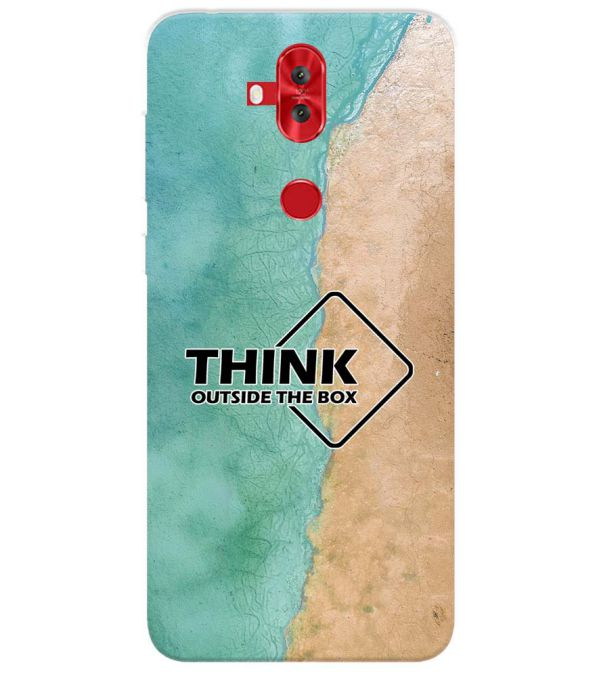 Think Outside The Box Back Cover for Asus Zenfone 5 Lite ZC600KL