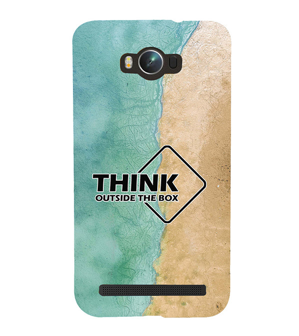 Think Outside The Box Back Cover for Asus Zenfone Max ZC550KL