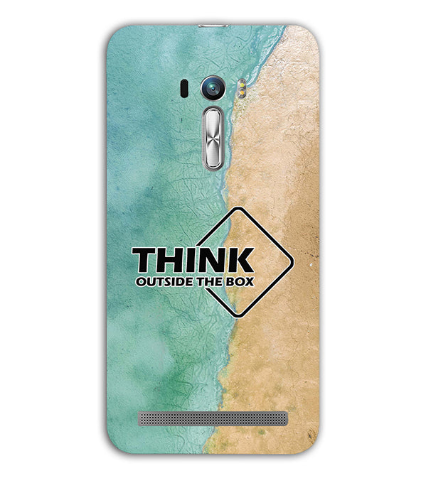 Think Outside The Box Back Cover for Asus Zenfone Selfie