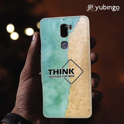 Think Outside The Box Back Cover for Coolpad Cool 1-Image2
