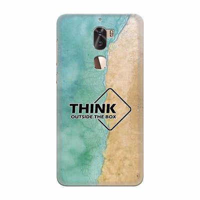 Think Outside The Box Back Cover for Coolpad Cool 1