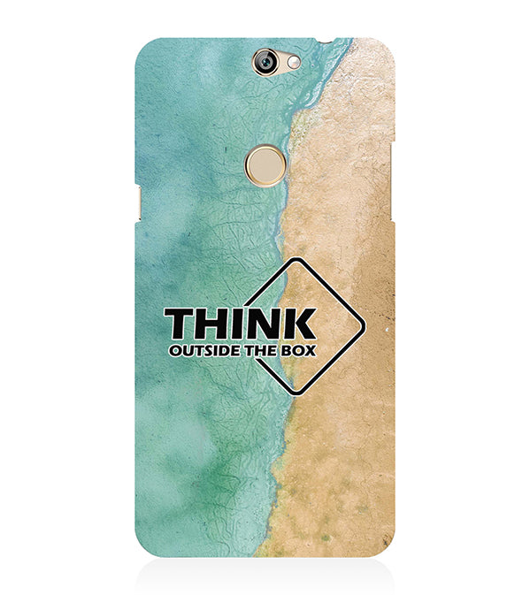 Think Outside The Box Back Cover for Coolpad Max
