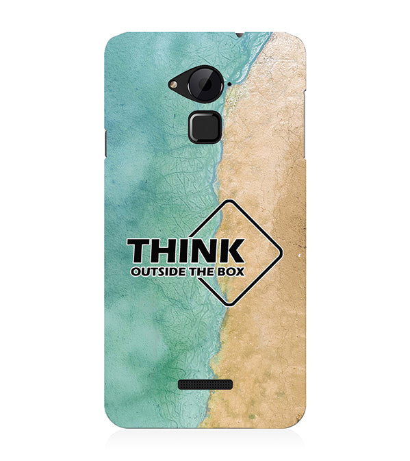 Think Outside The Box Back Cover for Coolpad Note 3