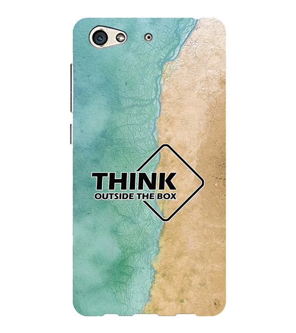 Think Outside The Box Back Cover for Gionee S10