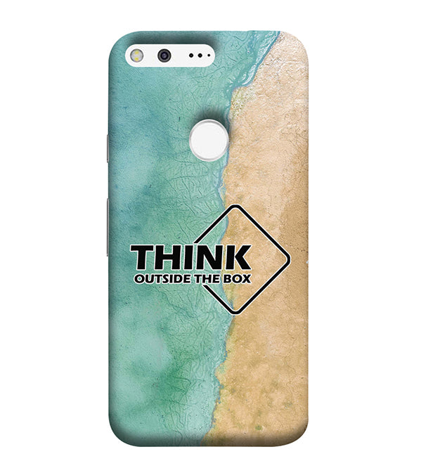 Think Outside The Box Back Cover for Google Pixel