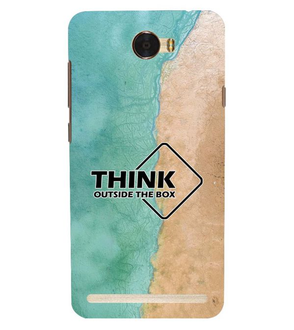 Think Outside The Box Back Cover for Huawei Honor Bee 2 :: Huawei Y3 2