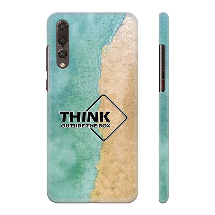 Think Outside The Box Back Cover for Huawei P20 Pro