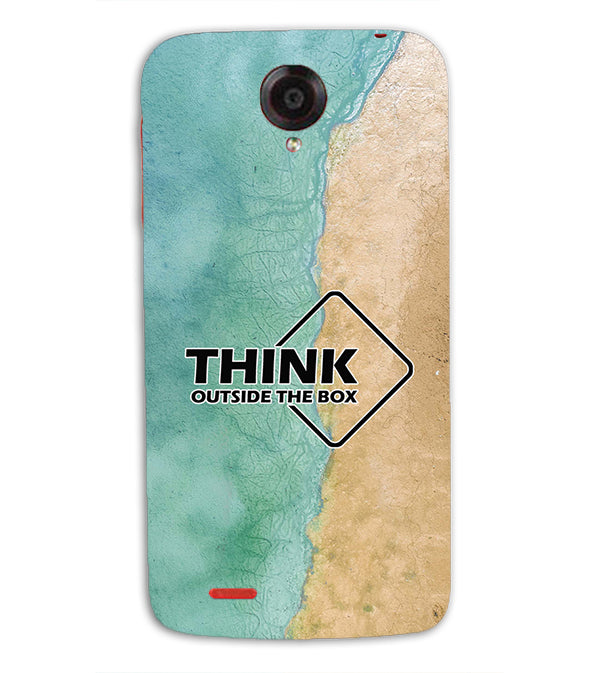 Think Outside The Box Back Cover for Lenovo S820