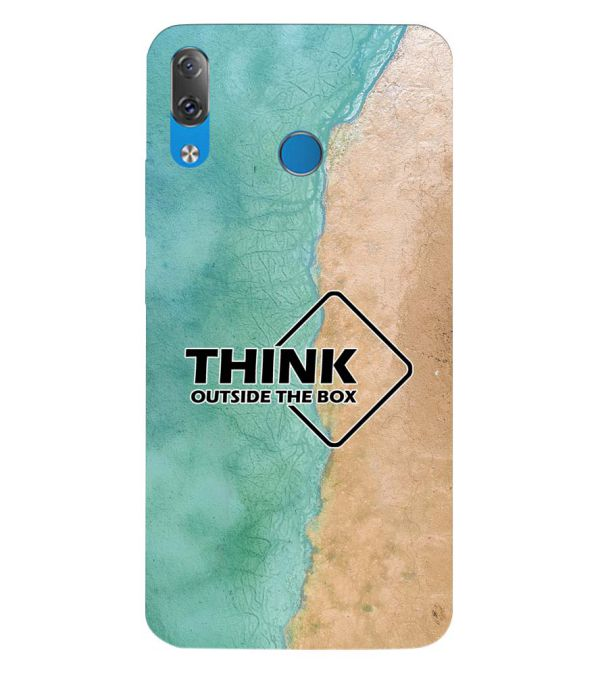 Think Outside The Box Back Cover for Lenovo Z5