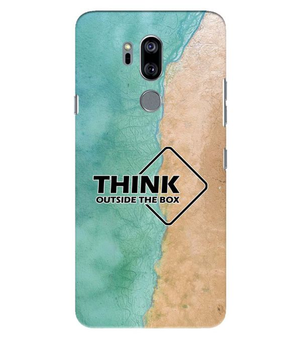 Think Outside The Box Back Cover for LG G7