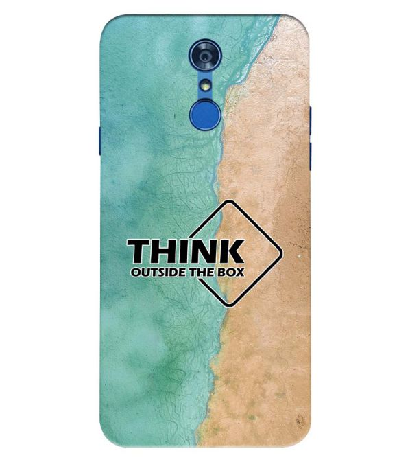 Think Outside The Box Back Cover for LG Q7