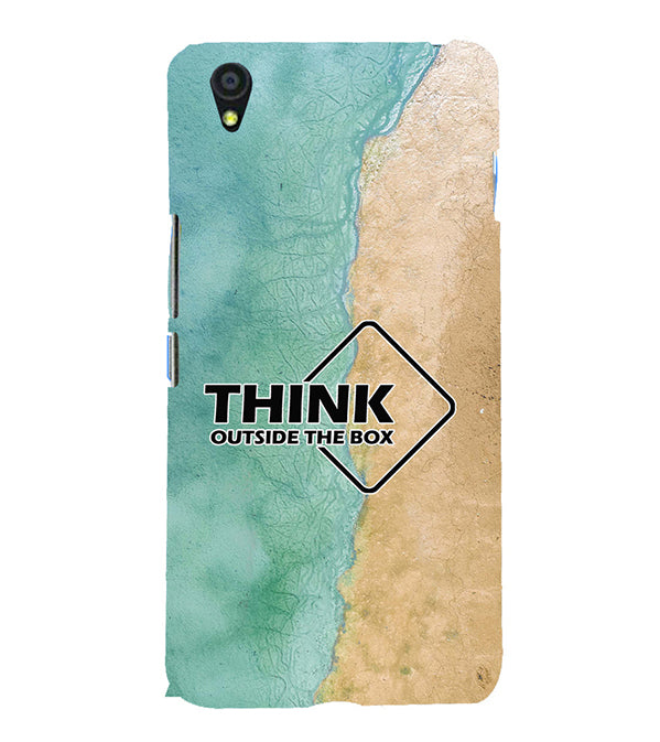 Think Outside The Box Back Cover for OnePlus X