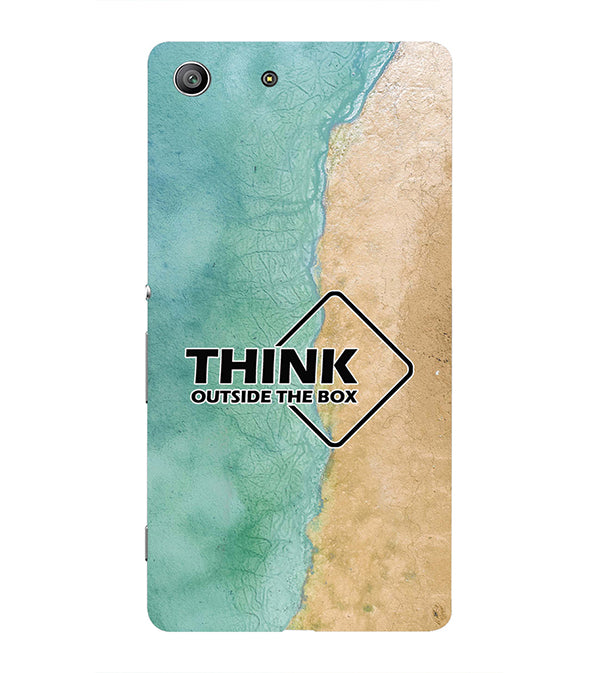 Think Outside The Box Back Cover for Sony Xperia Z3 Compact