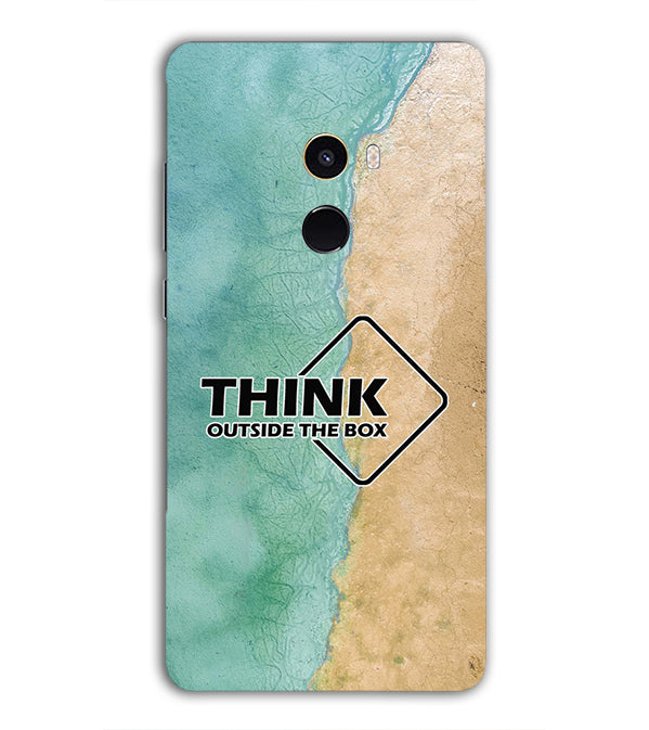 Think Outside The Box Back Cover for Xiaomi Mix 2