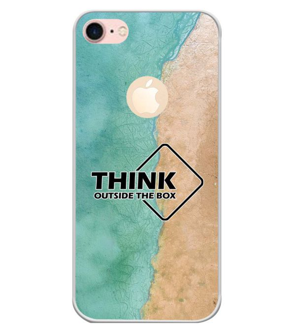 Think Outside The Box Back Cover for Apple iPhone 7 (Logo)-Image3