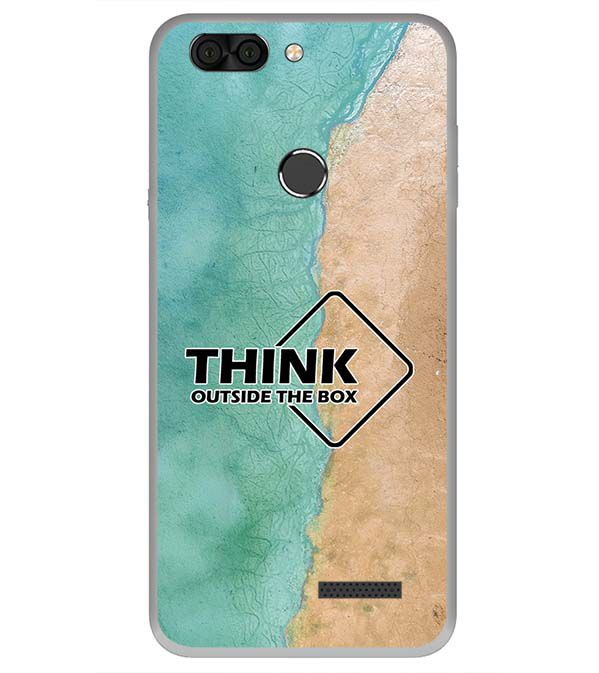 best sneakers e0fed 11123 Think Outside The Box Back Cover for Infocus Vision 3