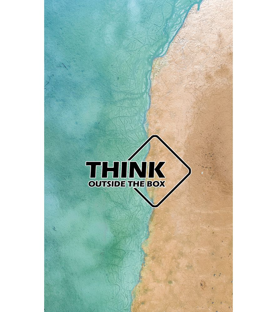 Think Outside The Box Back Cover for Intex Intx Trend Lite