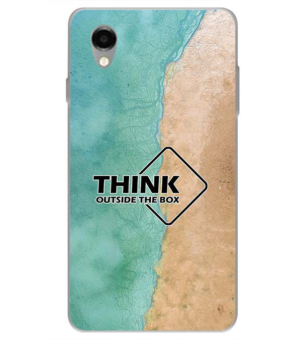 Think Outside The Box Back Cover for ITEL PWO Pro