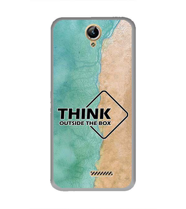 Think Outside The Box Back Cover for Lephone W10