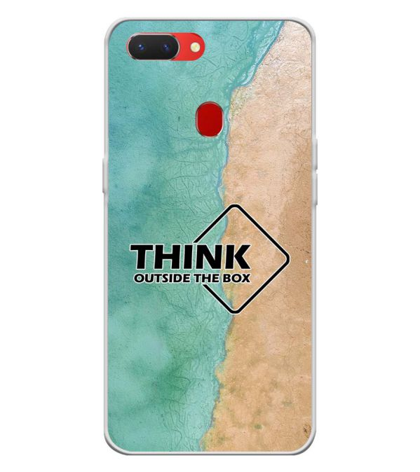 Think Outside The Box Back Cover for Oppo Realme 2-Image3