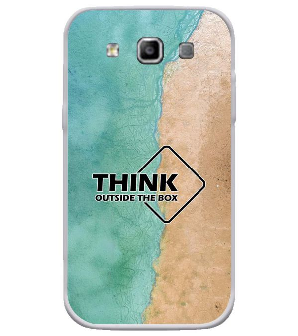 Think Outside The Box Soft Silicone Back Cover for Samsung Galaxy Grand Quattro 8552