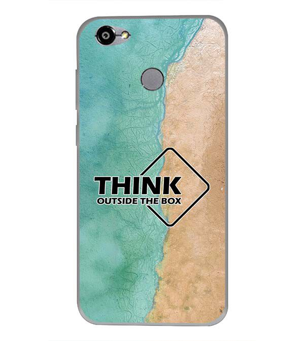 Think Outside The Box Back Cover for Smartron TPhone (P)