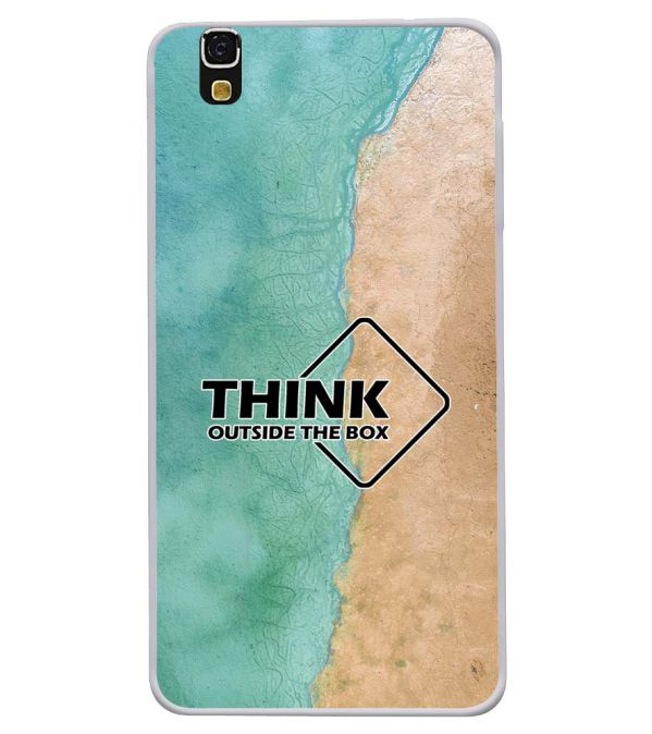 Think Outside The Box Soft Silicone Back Cover for Yu Yureka 5510