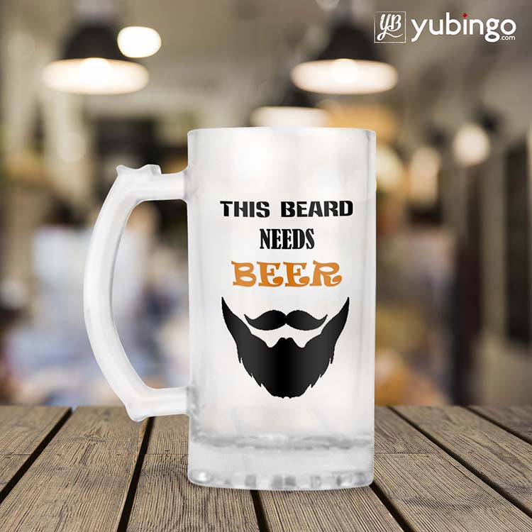 This Beard Needs Beer Beer Mug