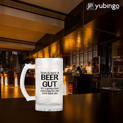 This Not A Beer Gut Beer Mug-Image4