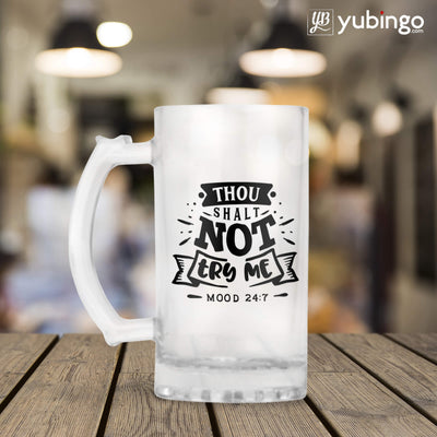 Thou Shalt Not Try Me  Beer Mug-Image3