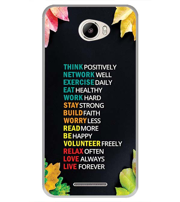 Tips For The Perfect Life Back Cover for Intex Intx Trend Lite