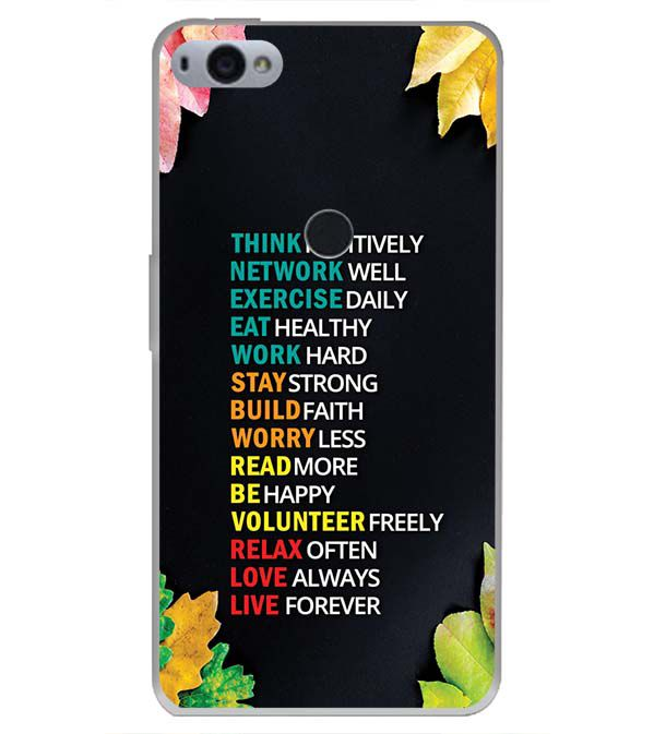 Tips For The Perfect Life Back Cover for Smartron SRT Phone